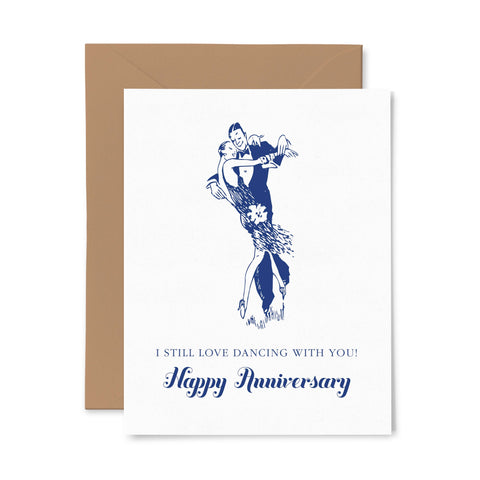 Anniversary | Love | Letterpress Greeting Card