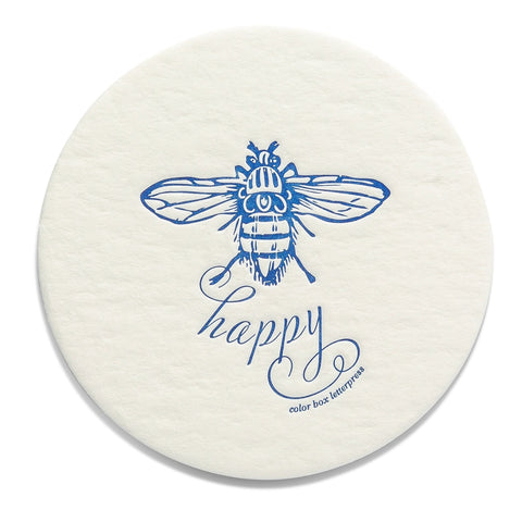 Extra Thirsty Coasters | Bee Happy