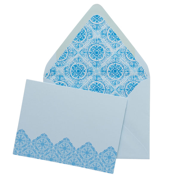 Folded Fancy Notecards | Tile