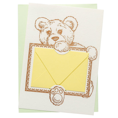 Gift Card Holder | Bear