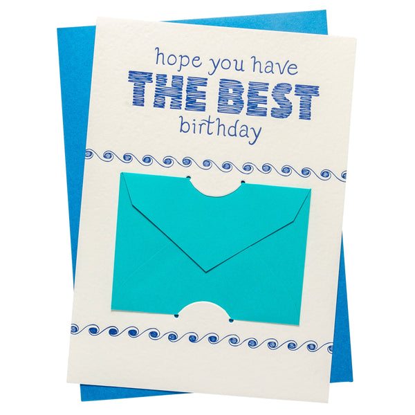Gift Card Holder | Best Birthday
