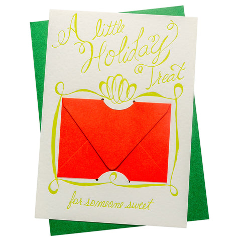 Gift Card Holder | Holiday Treat