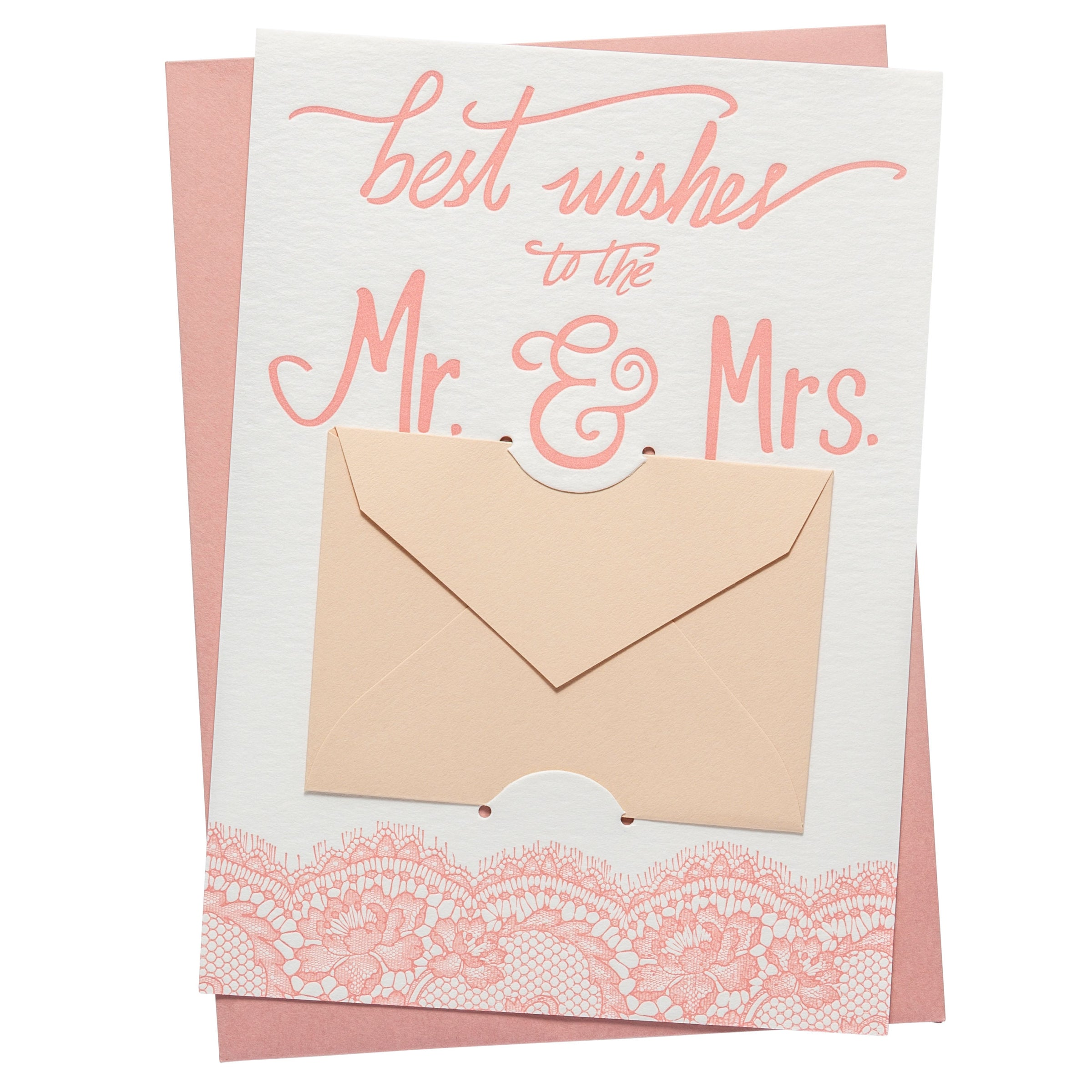Gift Card Holder | Mr. and Mrs.