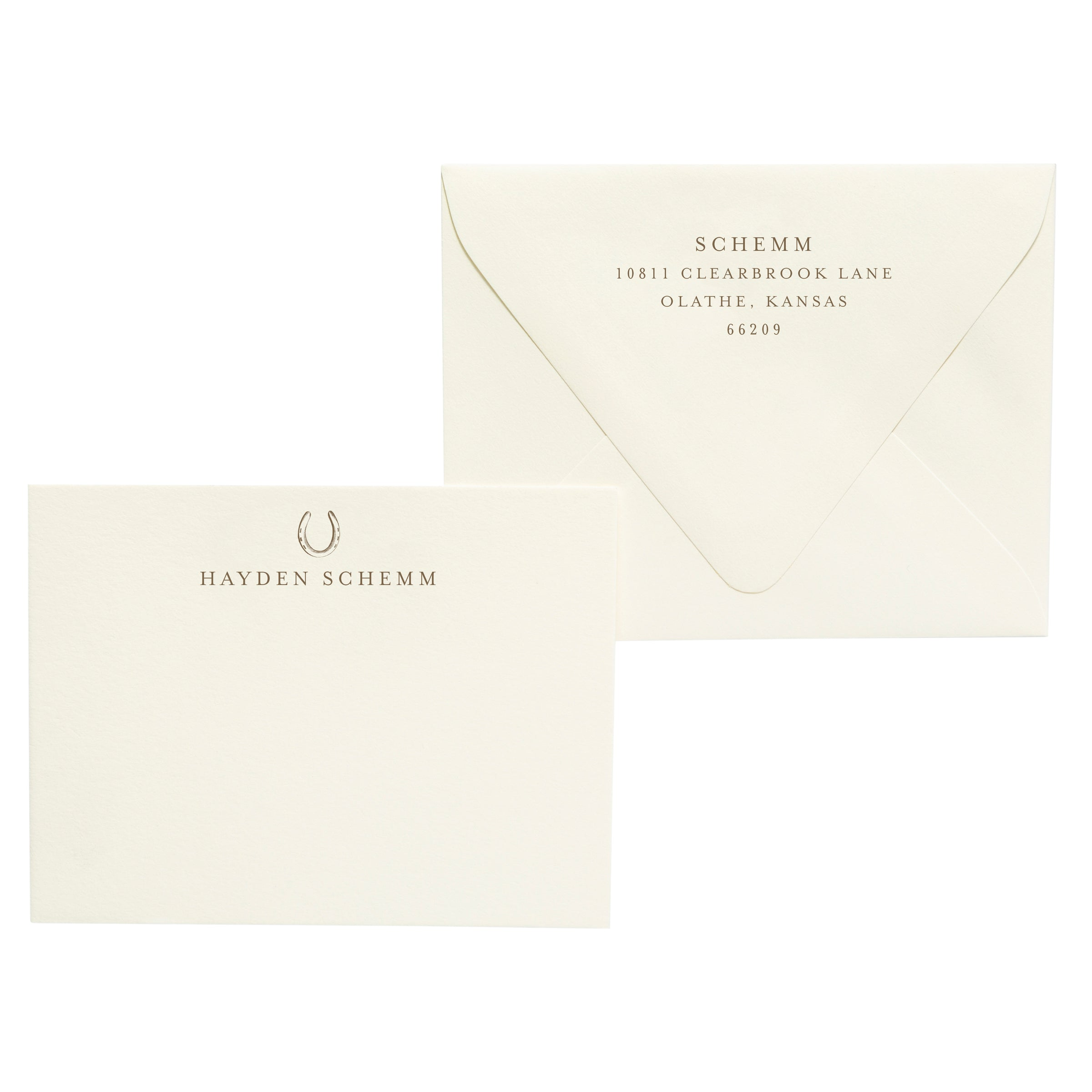 Hayden | Semi-Custom Stationery