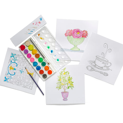 Luxe Watercolor Kit | Refined Collection