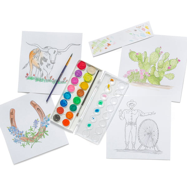 Luxe Watercolor Kit | Texas Collection