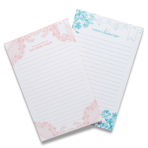 Edge-Painted Notepads