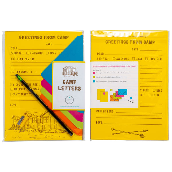 Camp Letter | Creative Kit