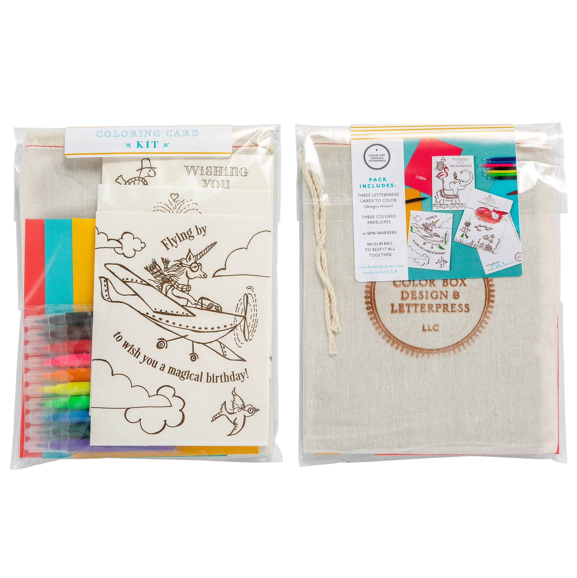 Coloring Card | Creative Kit