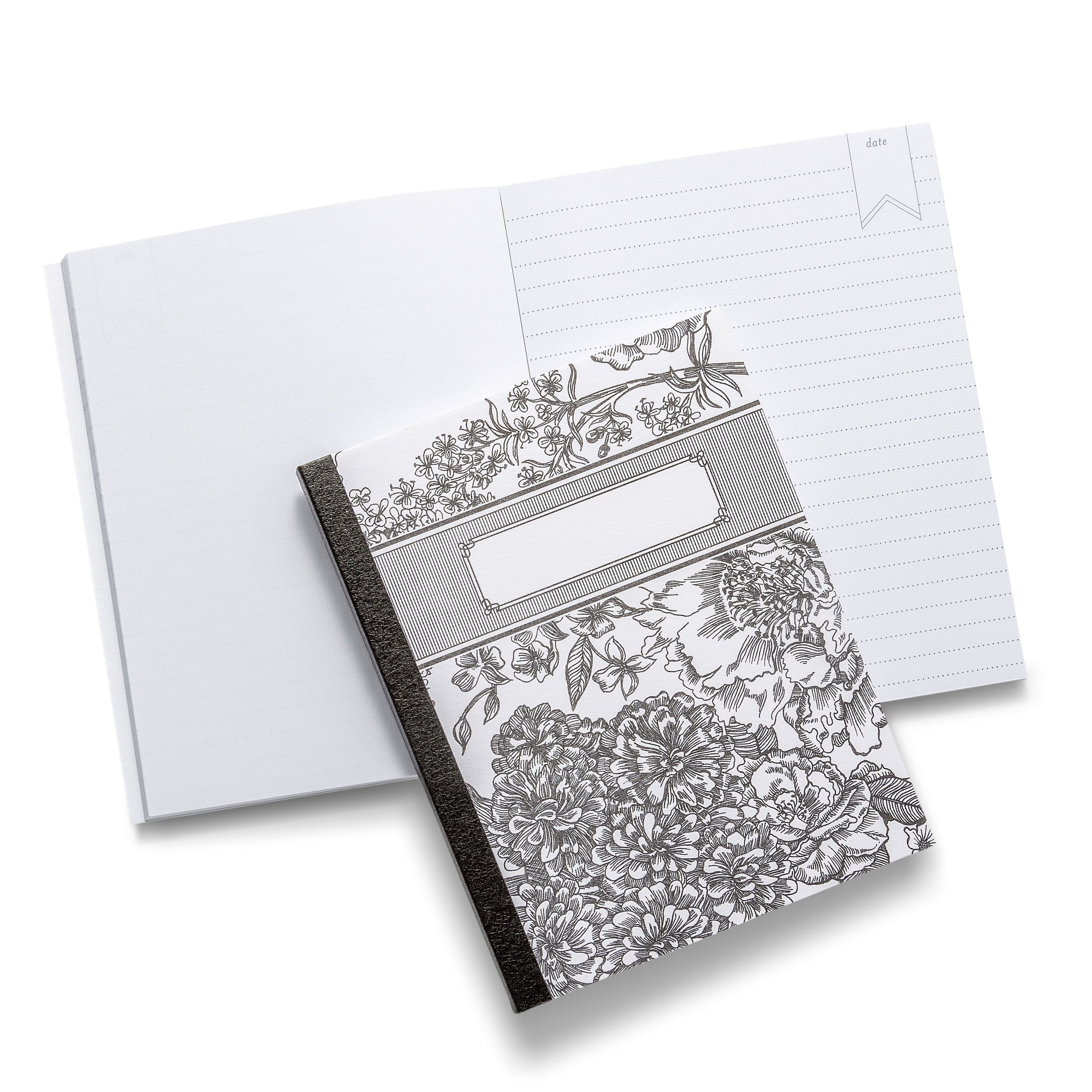 Pocket Floral Notebook