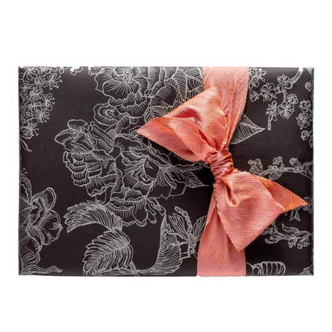 Gift Wrap | Botanical | Black