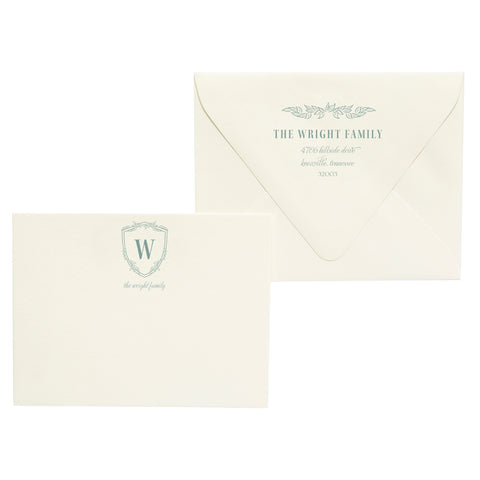 Wright | Semi-Custom Stationery