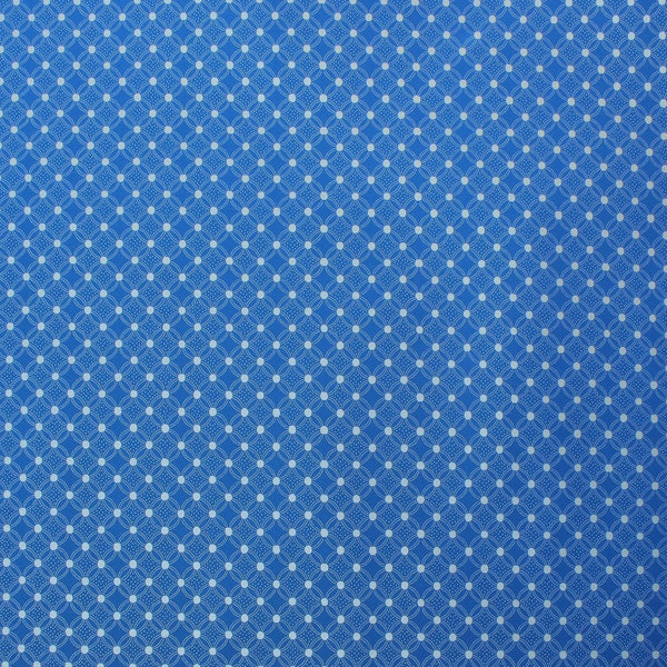 Gift Wrap | Dance of Dots | Blue