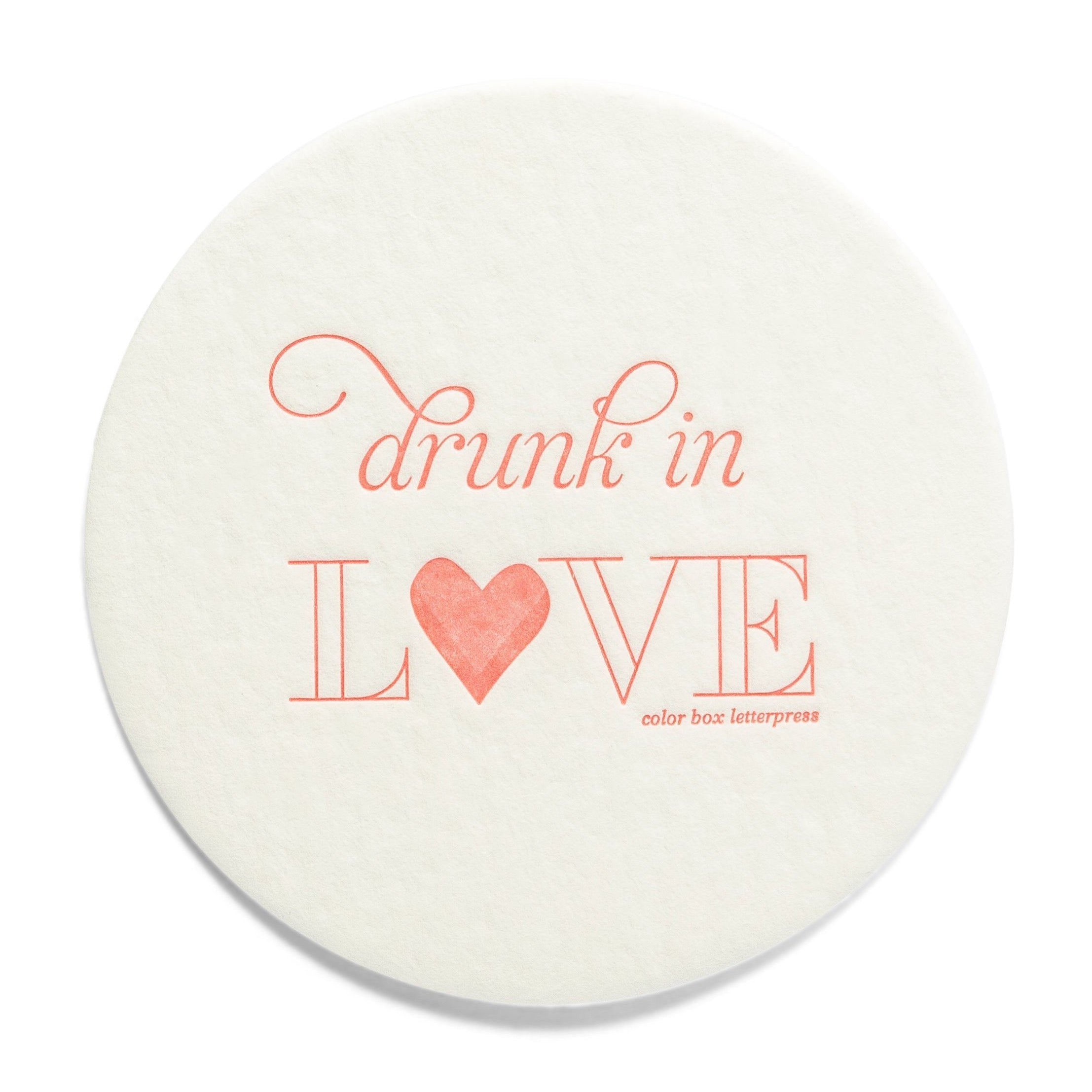 Extra Thirsty Coasters | Drunk in Love