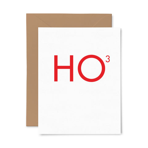 HO3 | Holiday | Letterpress Greeting Card