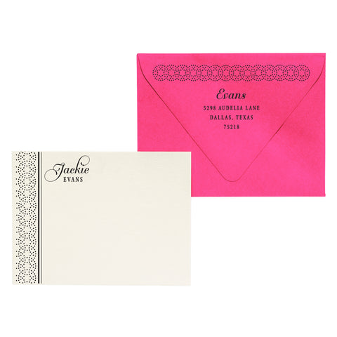 Jackie | Semi-Custom Stationery