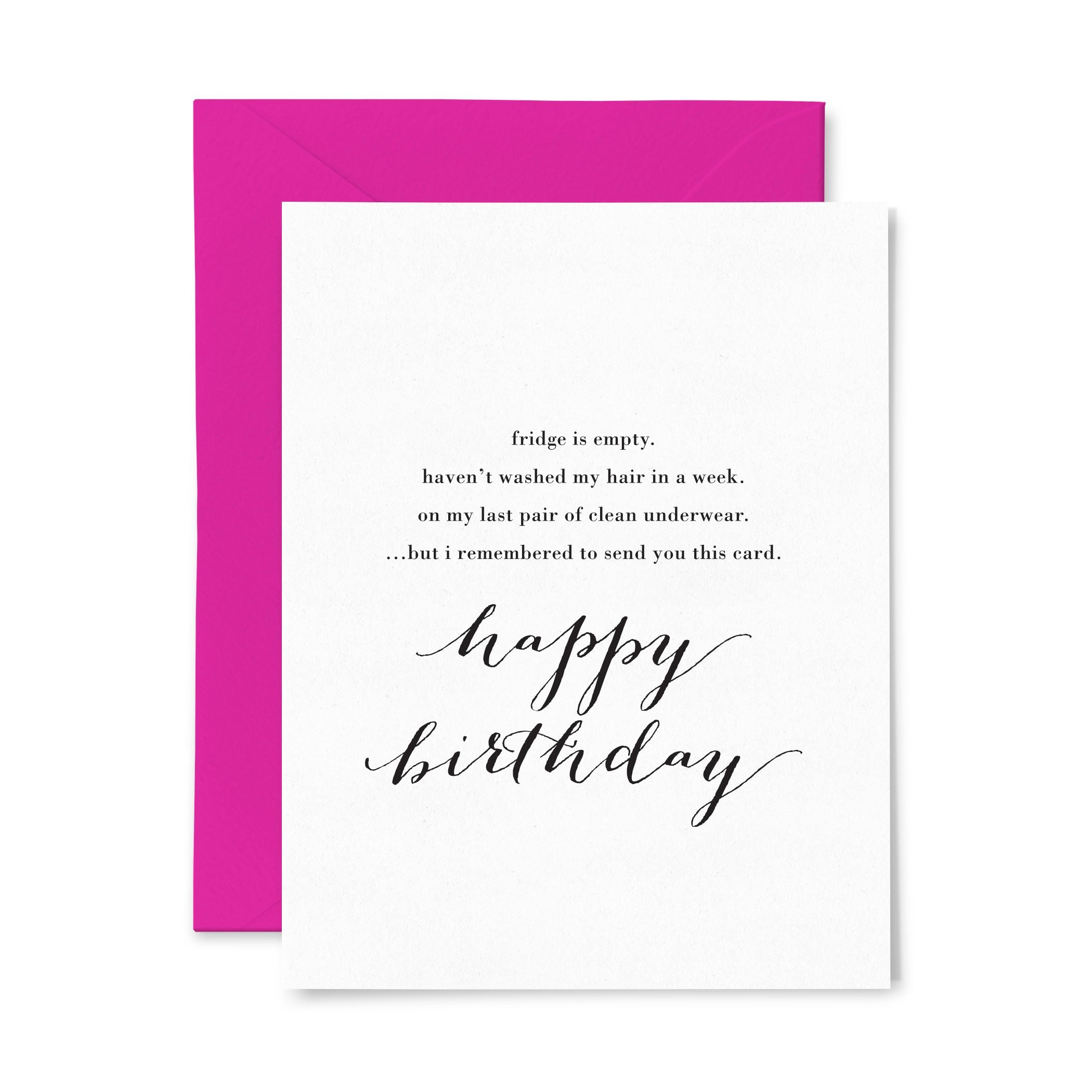 Hot Mess | Birthday | Letterpress Greeting Card