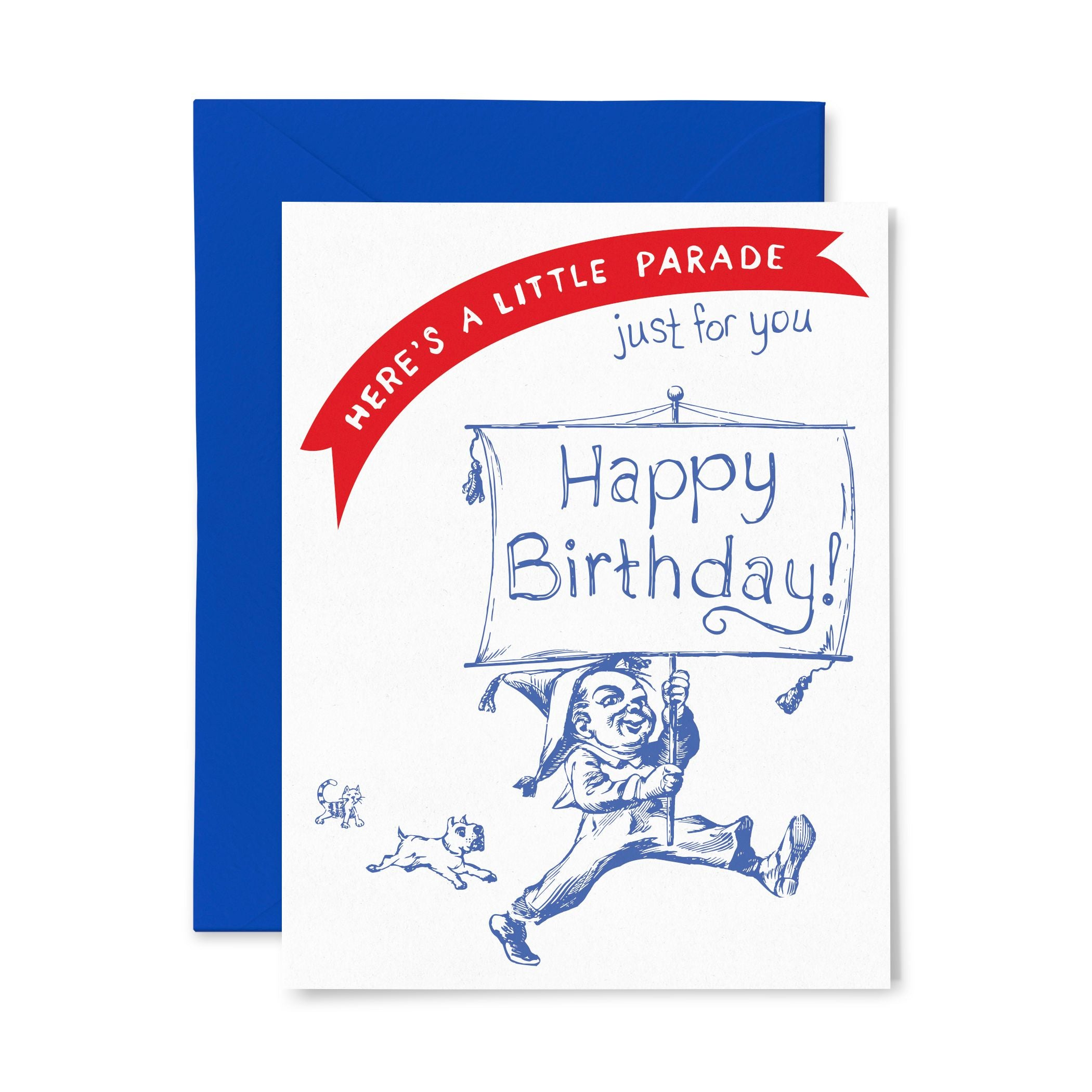 Parade | Birthday | Letterpress Greeting Card