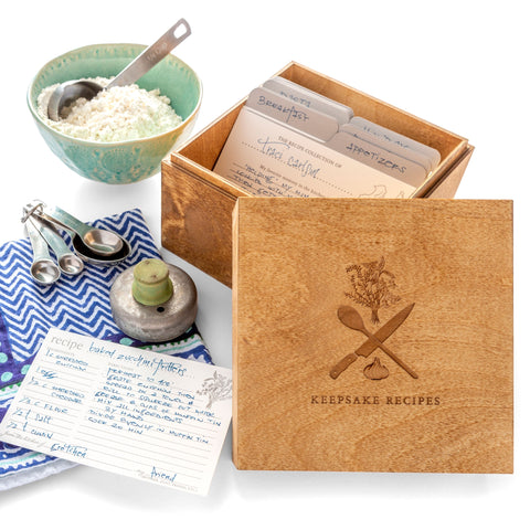 Keepsake Recipe Box