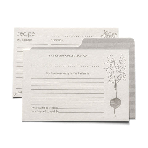 Keepsake Recipe Box Refill