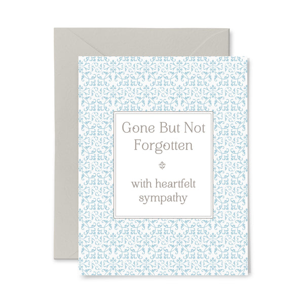 Not Forgotten | Sympathy | Letterpress Greeting Card
