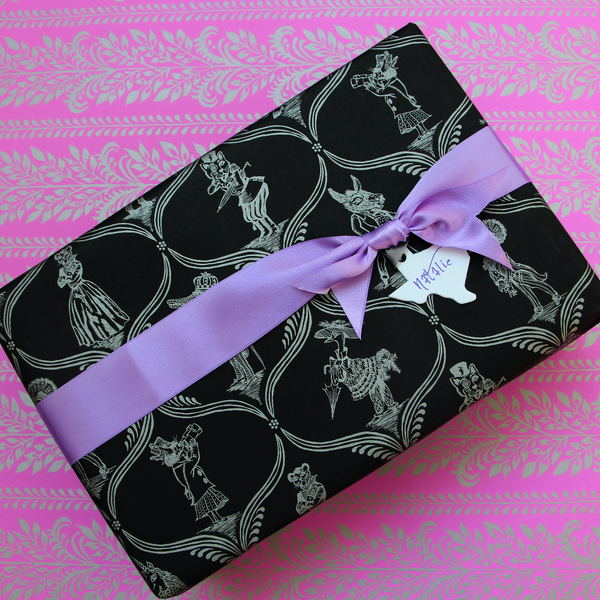 Gift Wrap | Menagerie | Black