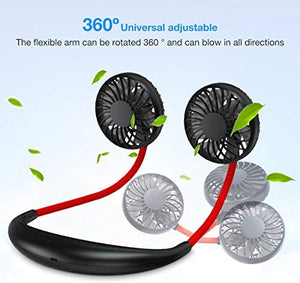 Portable Hanging Neck Sports Fan
