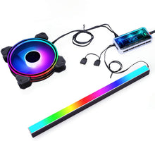 Load image into Gallery viewer, GIM KB-14 RGB PC Light Strip for Gaming Case(30 cm)