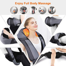 Load image into Gallery viewer, Shiatsu Back and Neck Massager with Heat