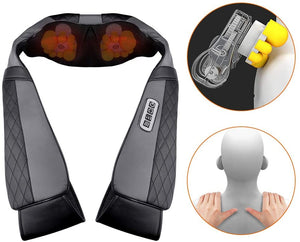 Shiatsu Back and Neck Massager with Heat