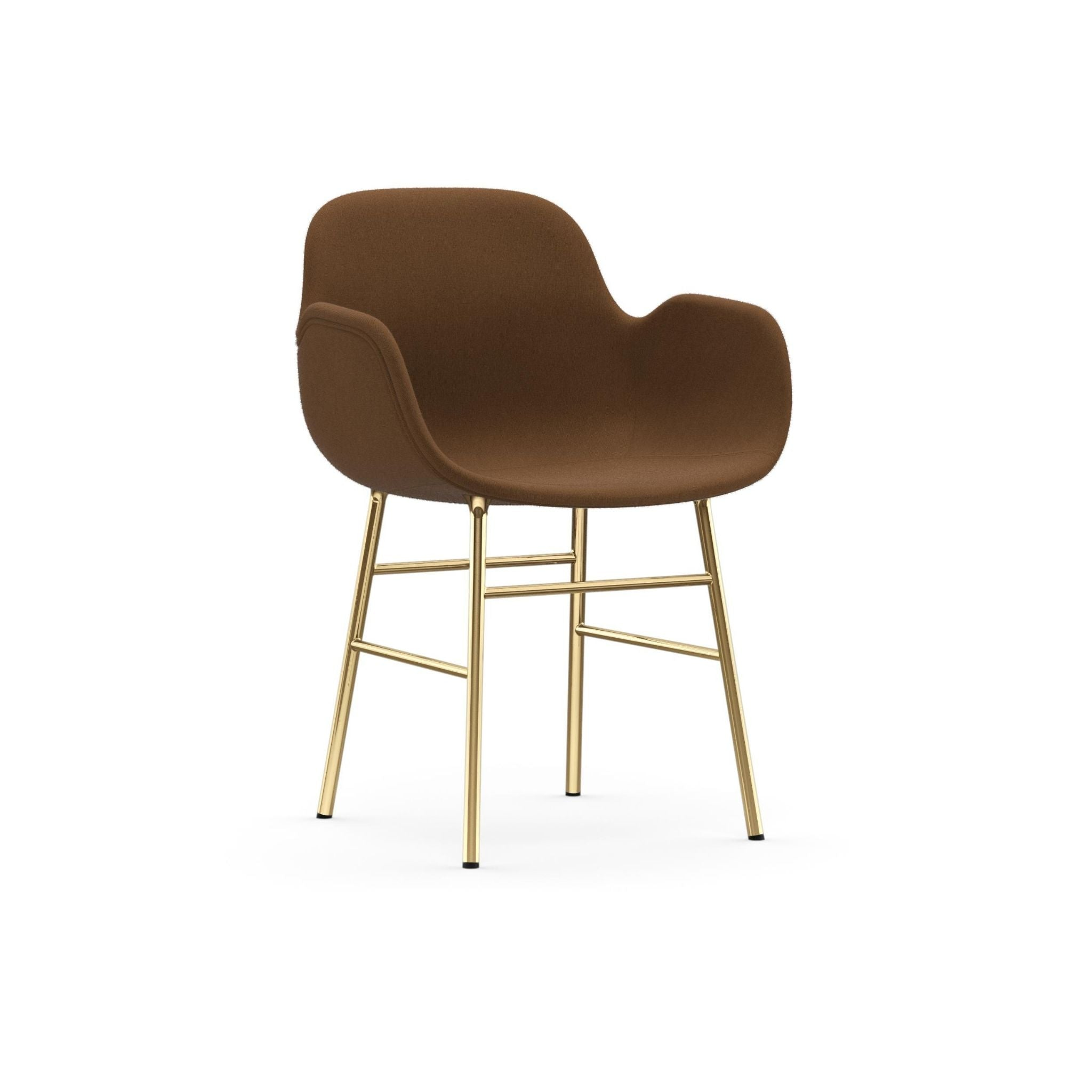 Form Armchair Full Upholstery Steel