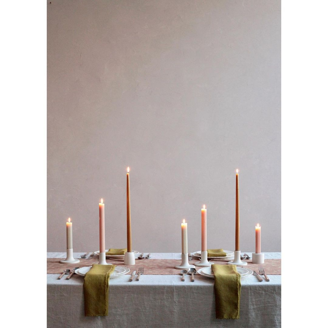 Ceramic Taper Candle Holder