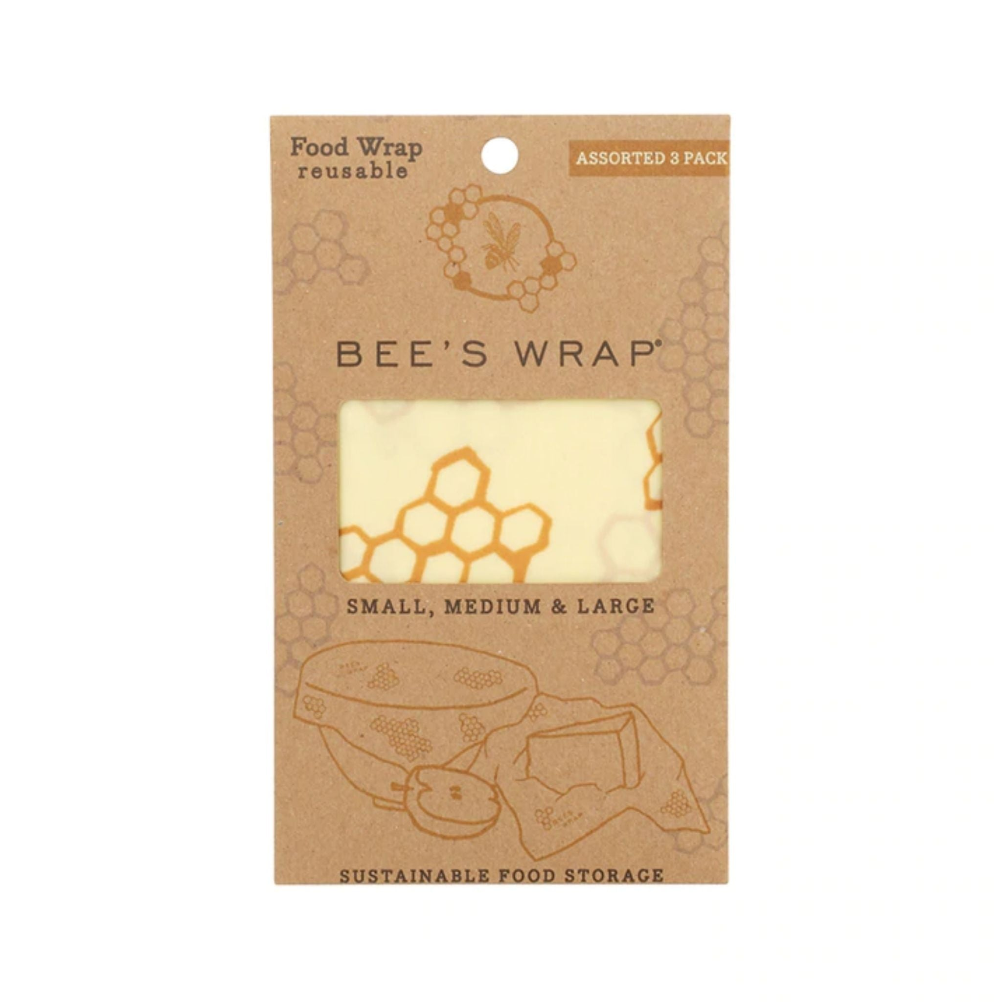 Bee's Wrap Assorted 3-Pack
