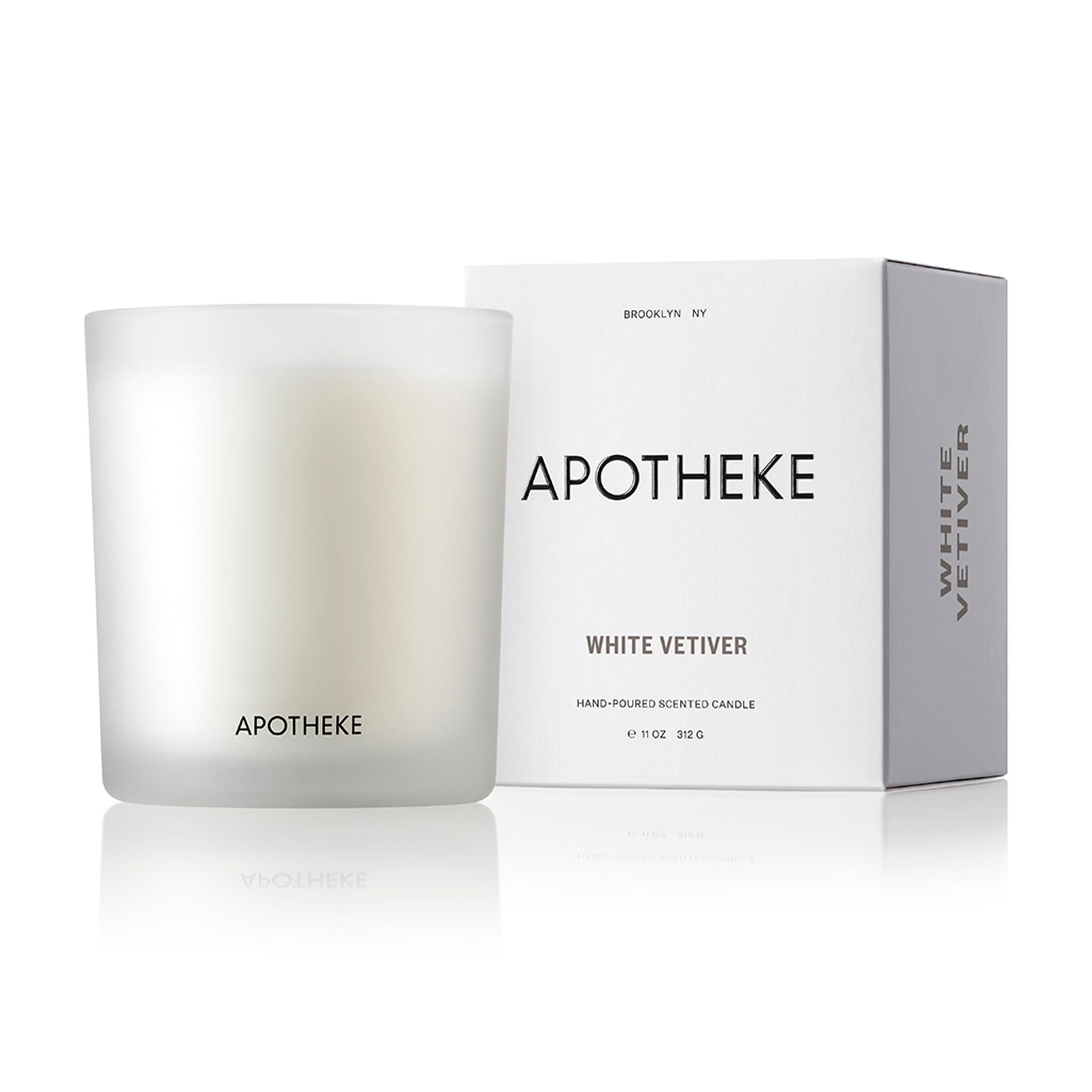 White Vetiver Signature Candle 11oz