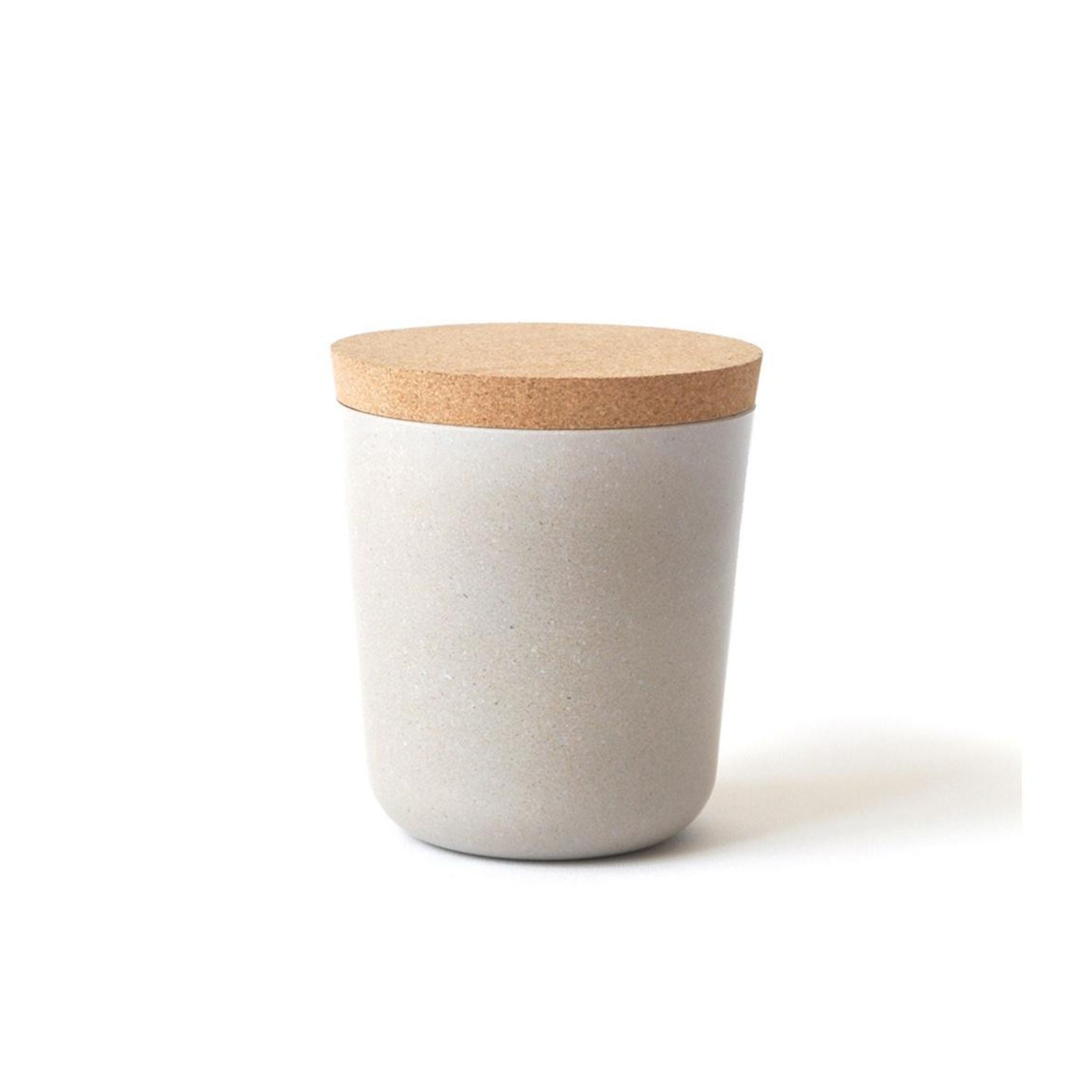 Bamboo Small Storage Jar