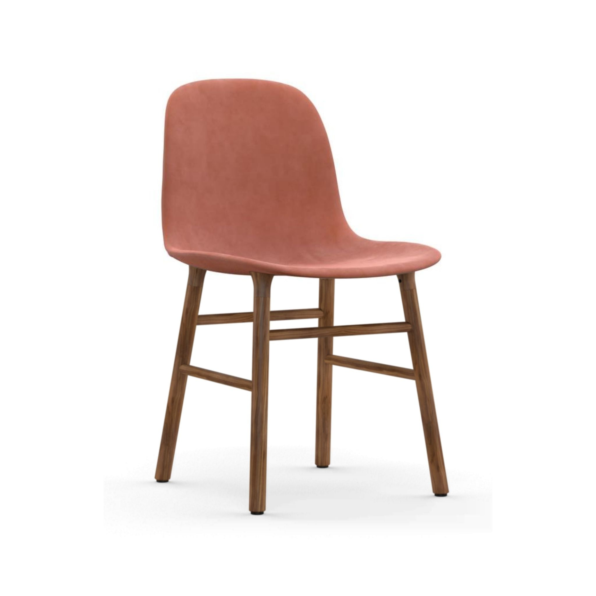 Form Chair Full Upholstery Wood
