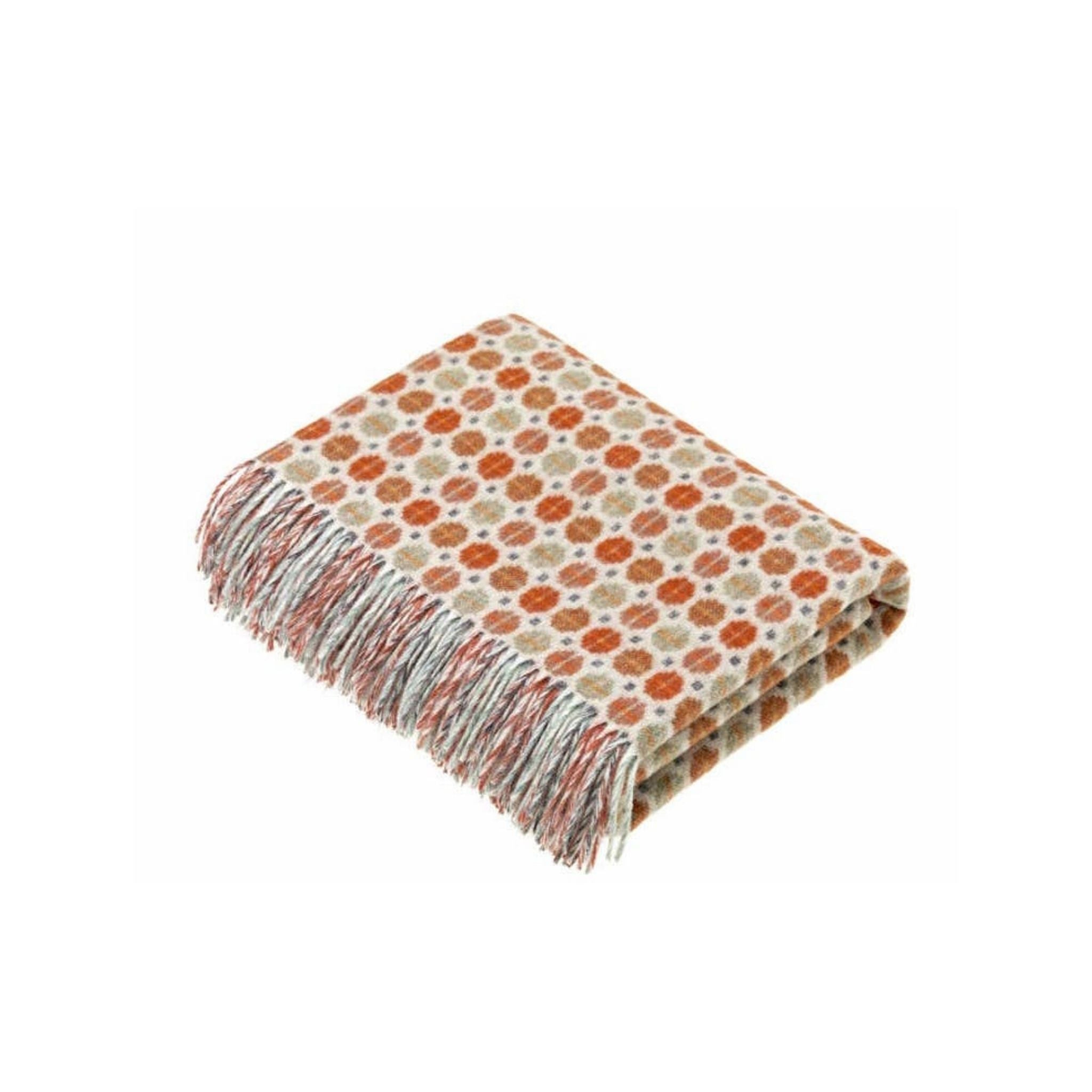 Merino Wool Throw - Milan Collection Saffron