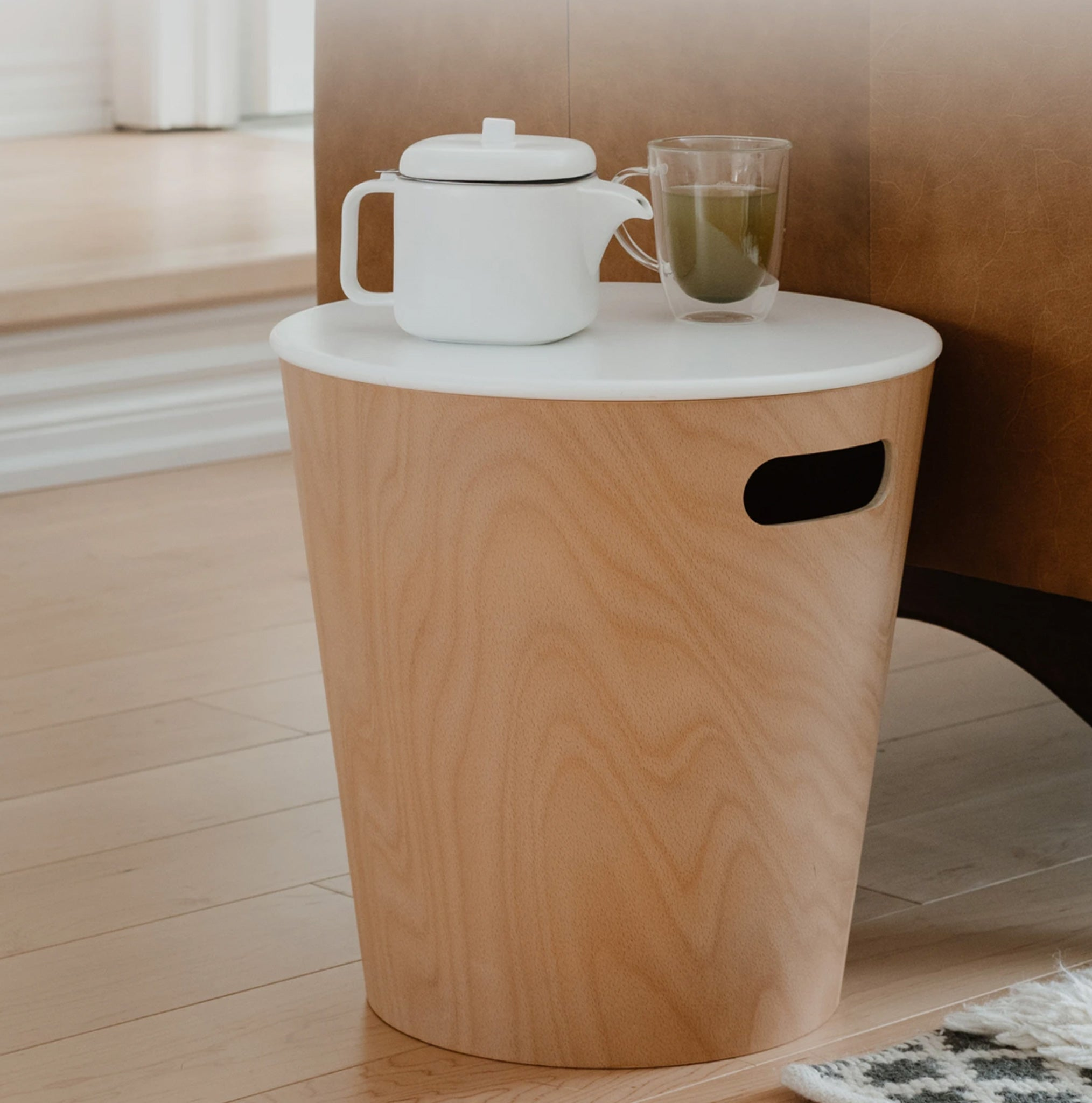 Woodrow Stool and Storage