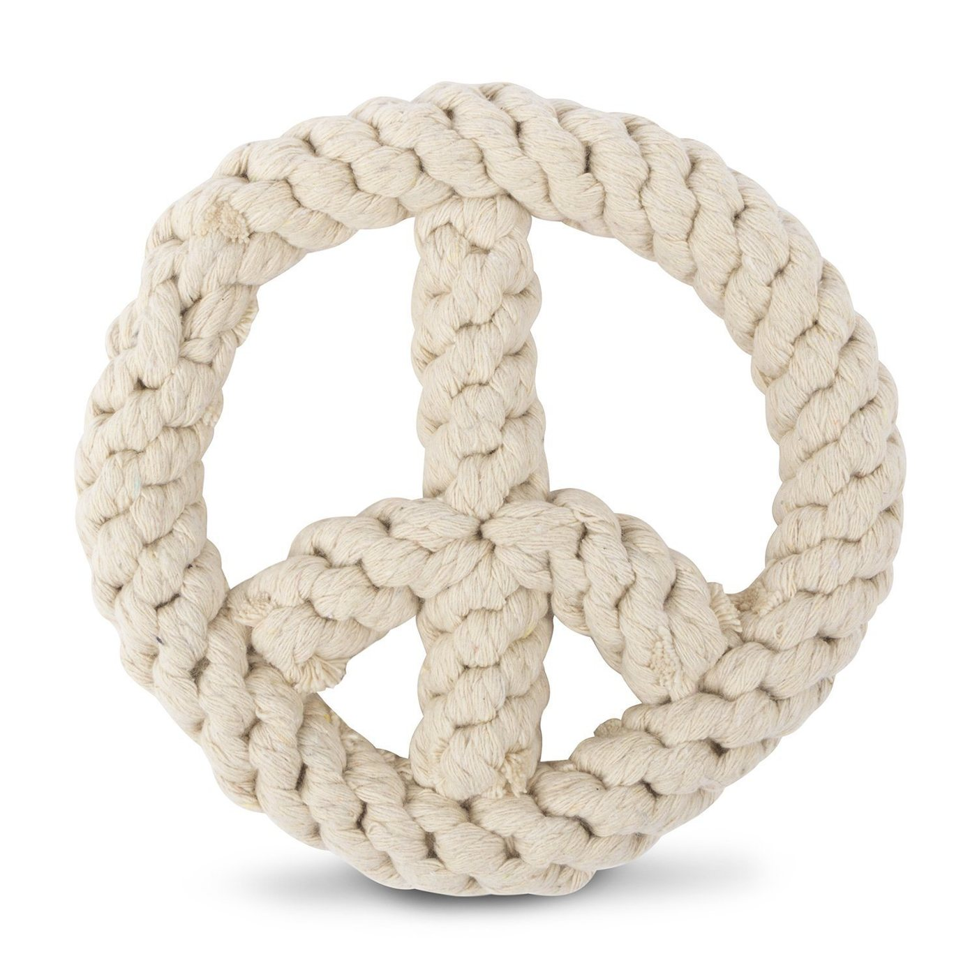 Peace On Earth Cotton Rope Toy