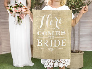 Load image into Gallery viewer, Here Comes The Bride Sign