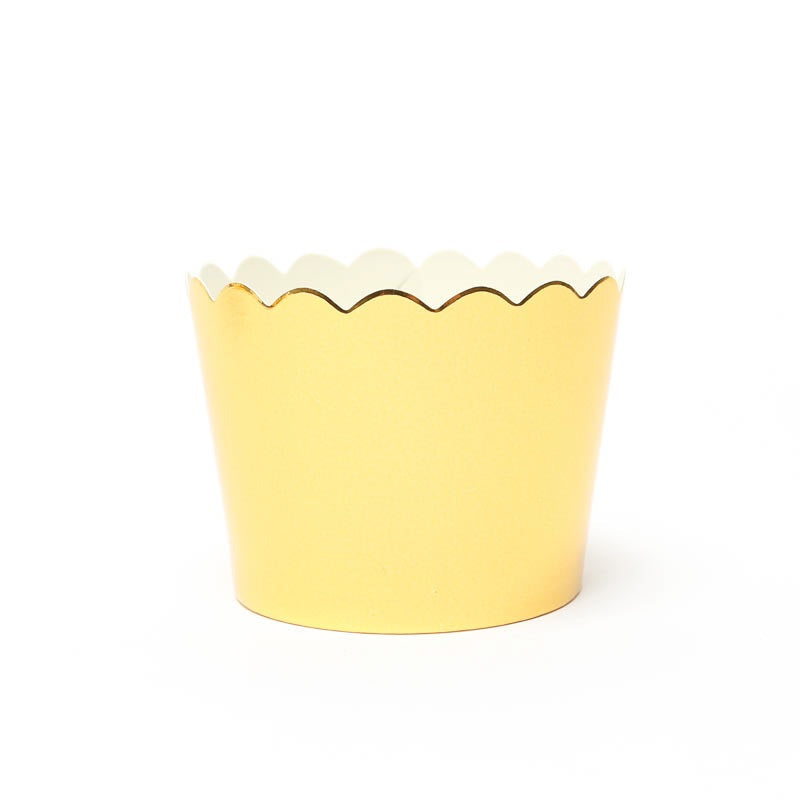Gold Foil Baking Cups (25 pack)