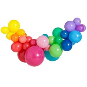 Rainbow Large Balloon Garland