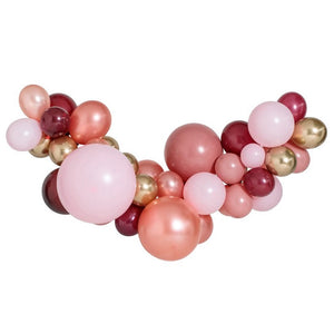 Load image into Gallery viewer, Rosewood Large Balloon Garland