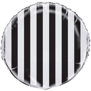 Load image into Gallery viewer, Black & White Stripe Balloon