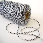 Black & White Bakers Twine (100m)