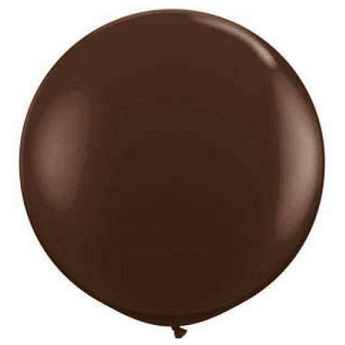 Chocolate Brown Giant 90cm Round Balloon