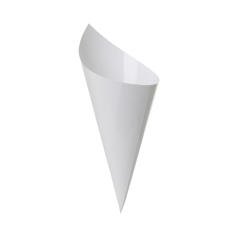 Load image into Gallery viewer, White Snack Cones (10 pack)