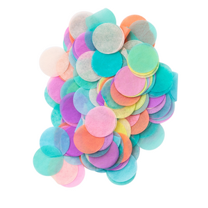 Load image into Gallery viewer, Pastel Rainbow Jumbo Confetti Dots