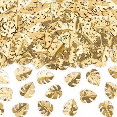 Gold Palm Leaf Confetti