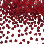 Red Mini Heart Confetti
